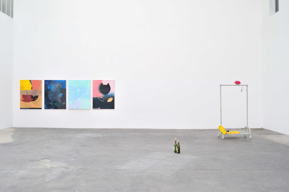 Installation view from   @harleyvnewton  at Bugada and Cargnel