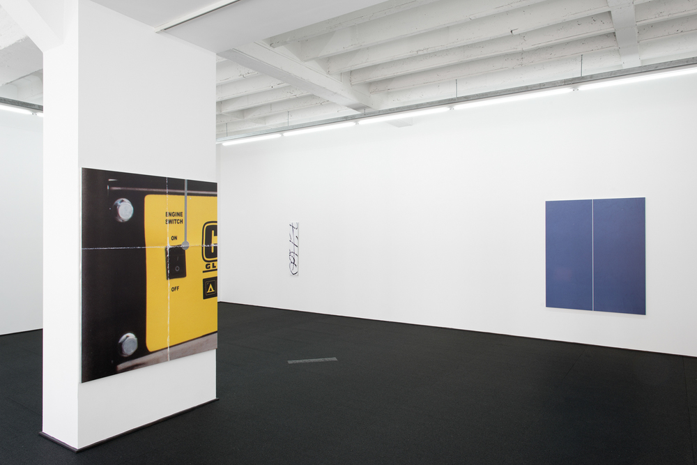 Installation view from Passport Precipitation @ Rodolphe Janssen