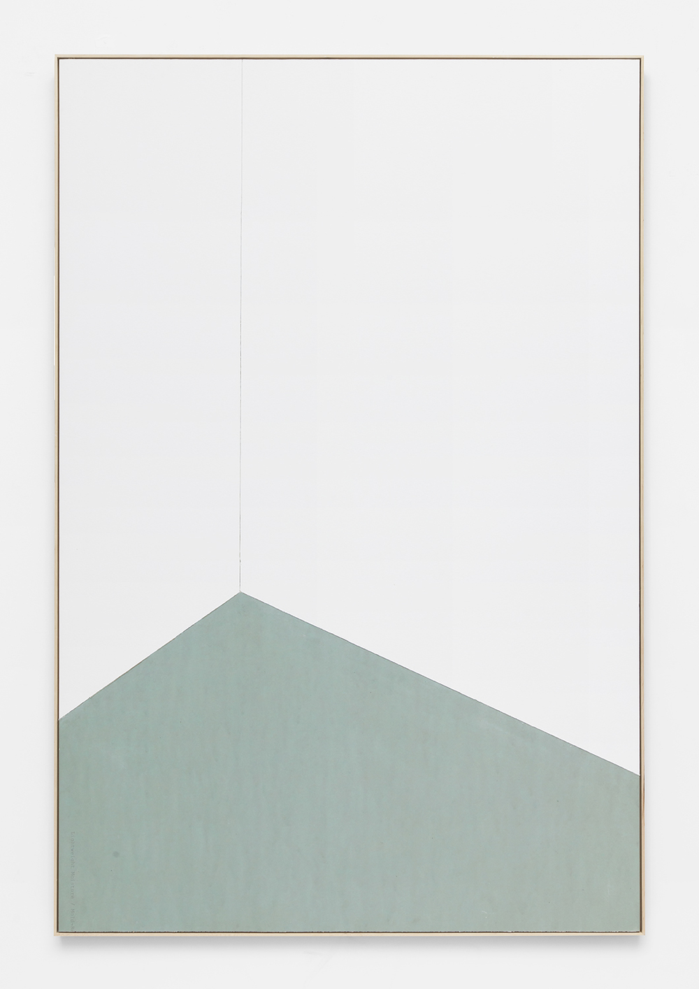 Imported Materials, 2015 Drywall in artist frame 72 x 48 inches