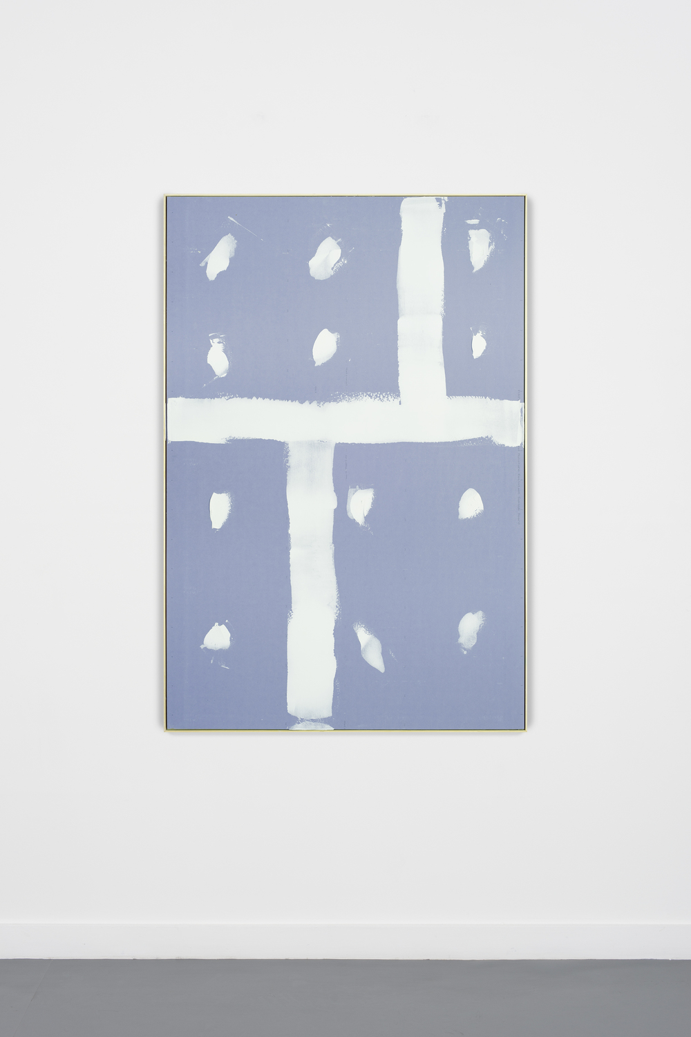 Jorge Rivero #3, 2014 Sheetrock, screws and joint compound in artist frame 72 x 48 inches