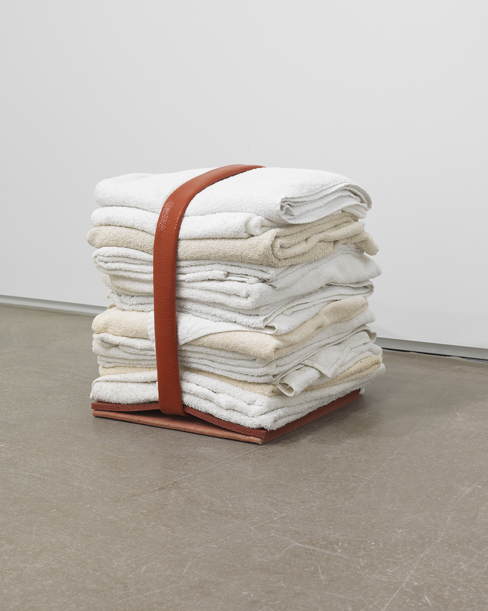Mother Tongue, 2012 Cotton, rubber, silicone 15 x 15 x 15 inches