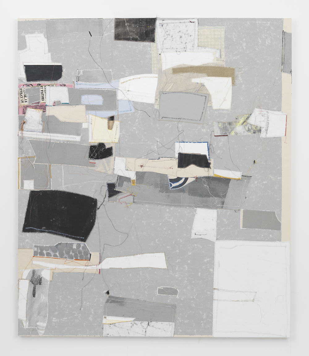 Torey, 2014 Canvas, thread and latex paint 70 x 60 inches