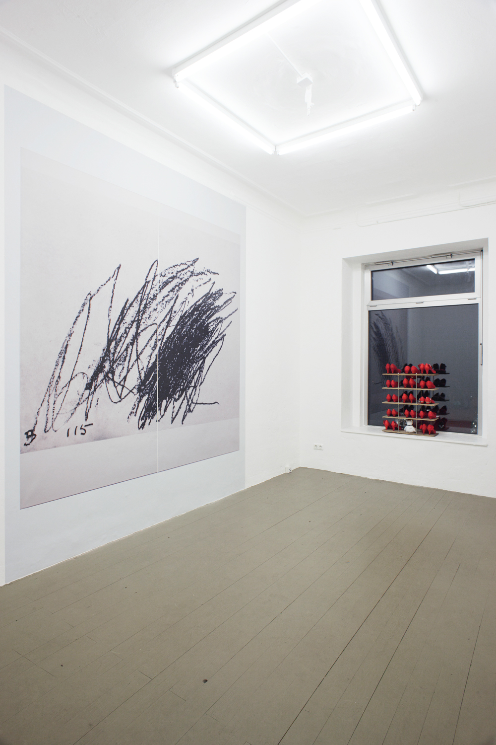 Installation view from If I Like It Then It's Mine @ Jan Kaps