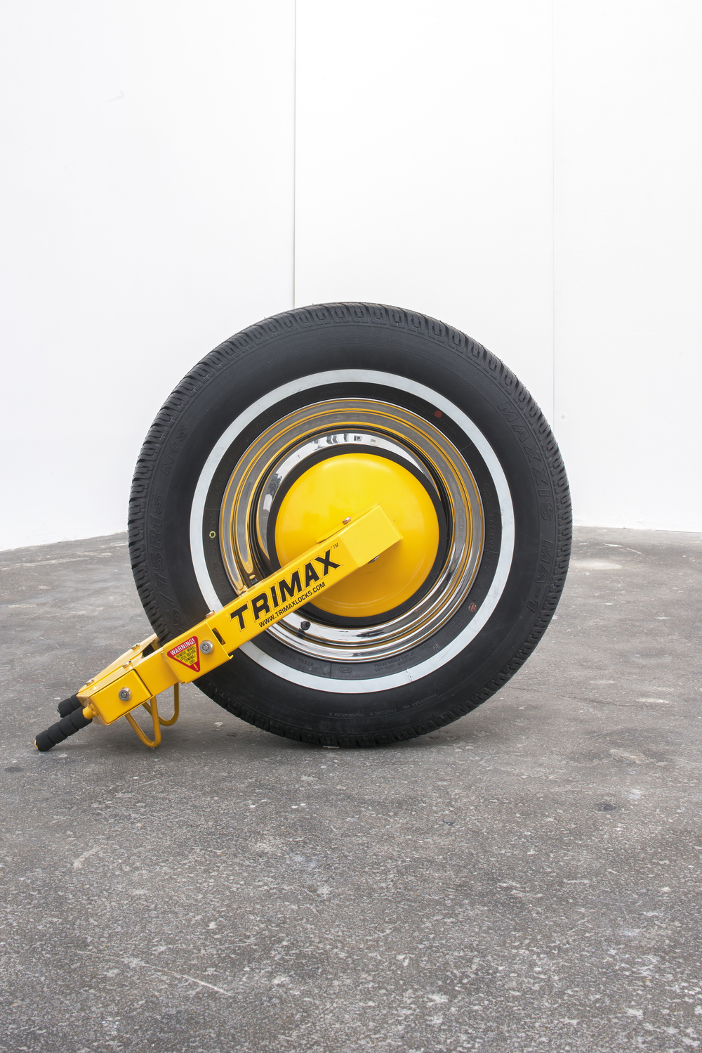 Manny, Moe and Jack (Moe), 2014 Rubber, steel Dimensions variable