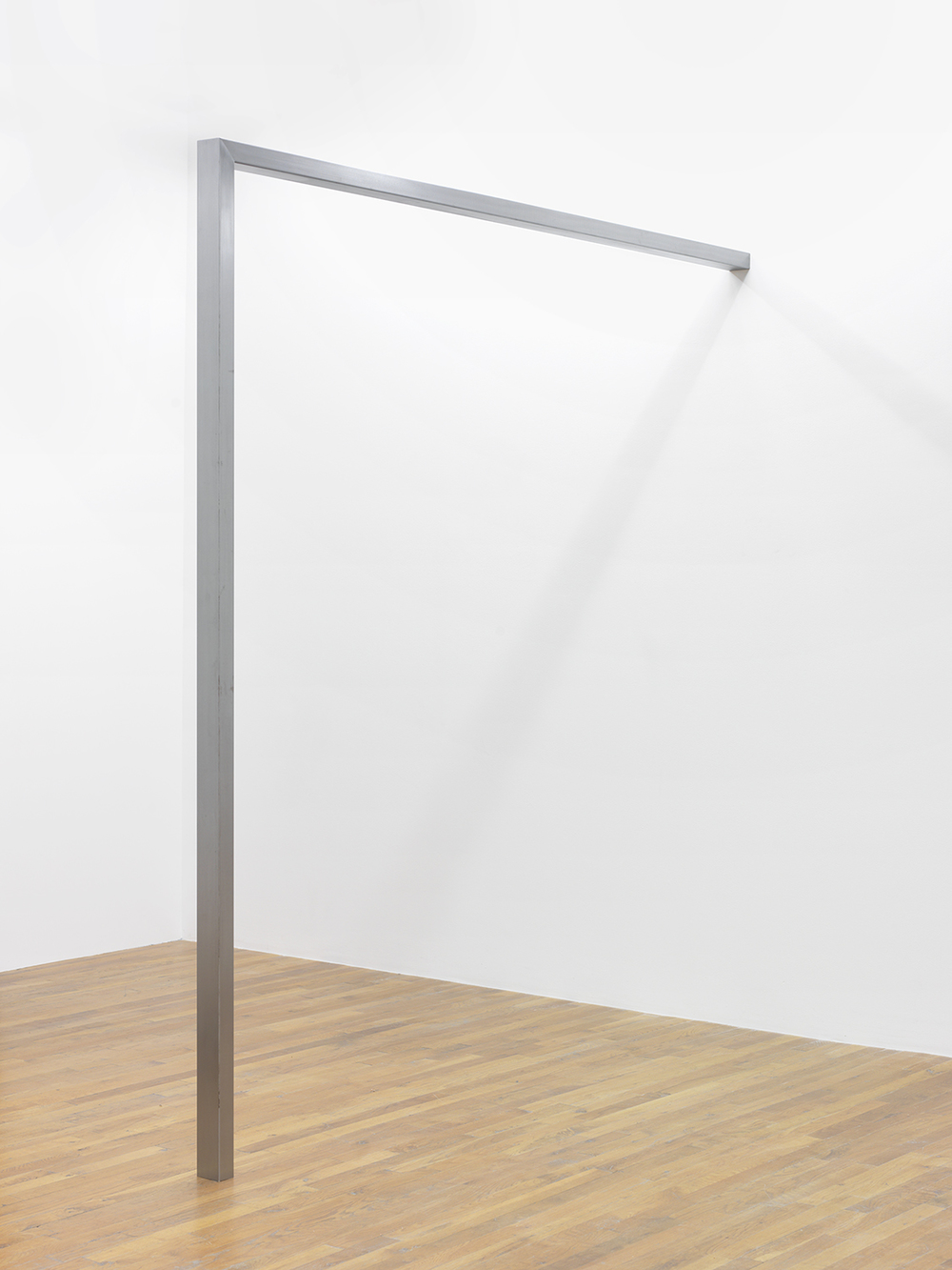 Pole , 2014  Steel  95.5 x 91.5 x 3 inches