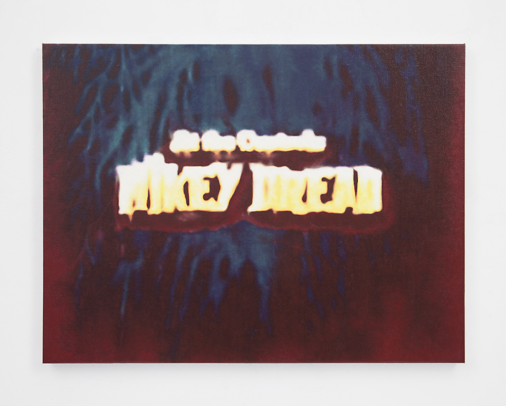 Mikey Dread , 2015 Oil on linen 18 x 23.75 inches