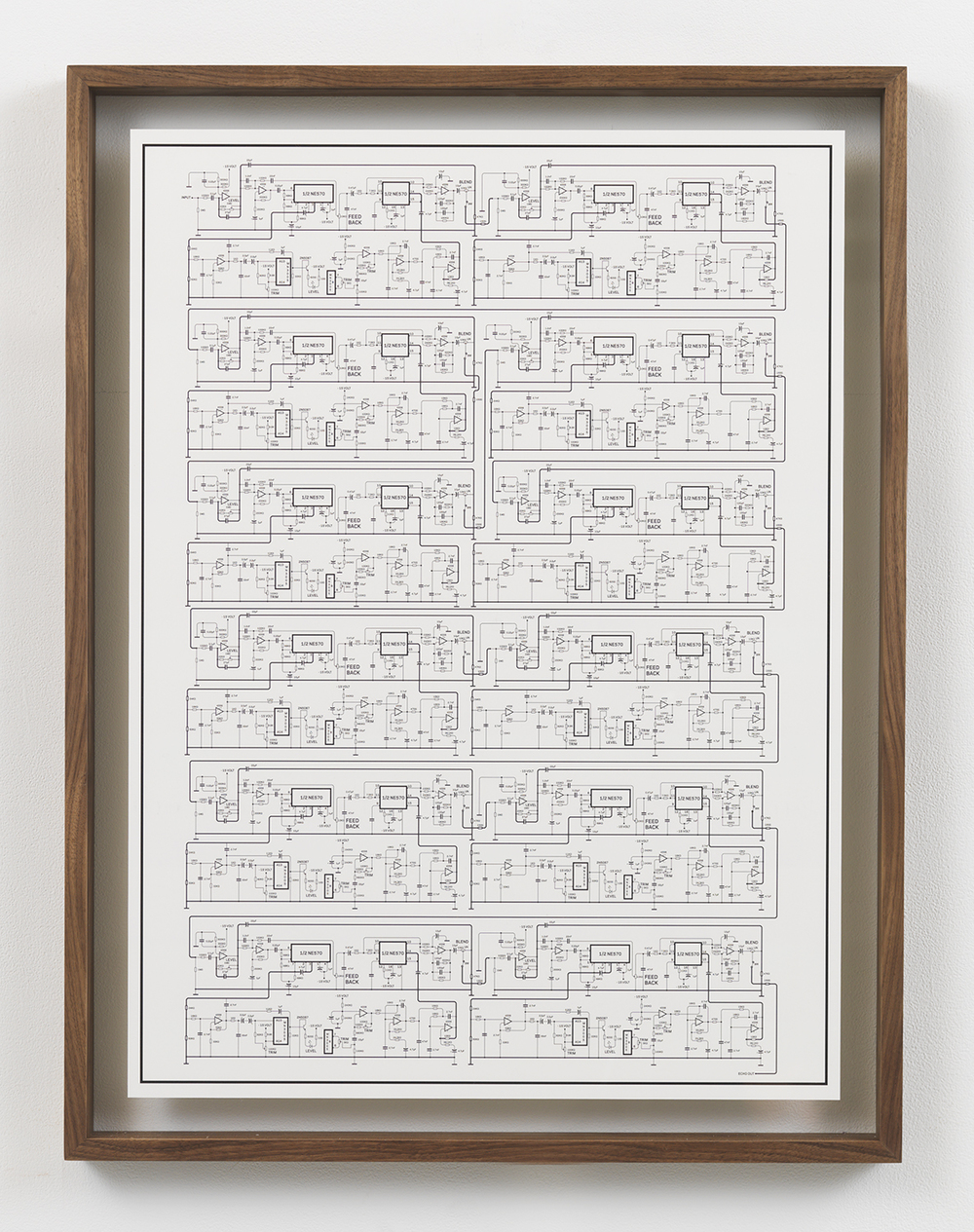 Deluxe Memory Man Cascade, 2015 Inkjet print in artist frame 33.75 x 25.75 inches