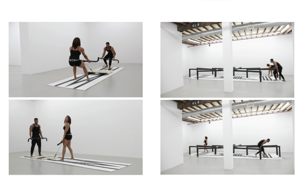 Video stills of performance documentation