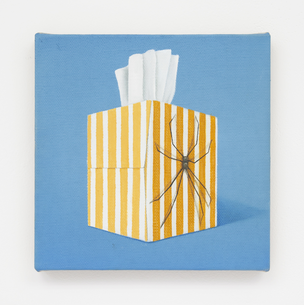 Daddy long legs, 2016 Oil on linen 10 x 10 inches