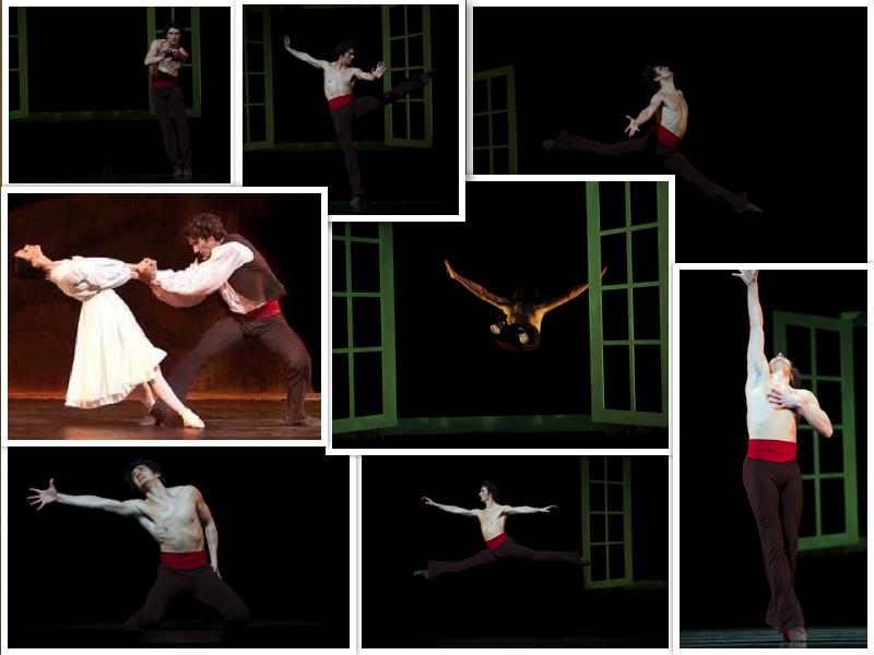Partnerpictured: Lucia Lacarra   Ballet/Choreographer: Petit's L'Arlésienne   Photographers include: Erik Tomasson, Chris Hardy, Lloyd Englert, Andrea Flores.