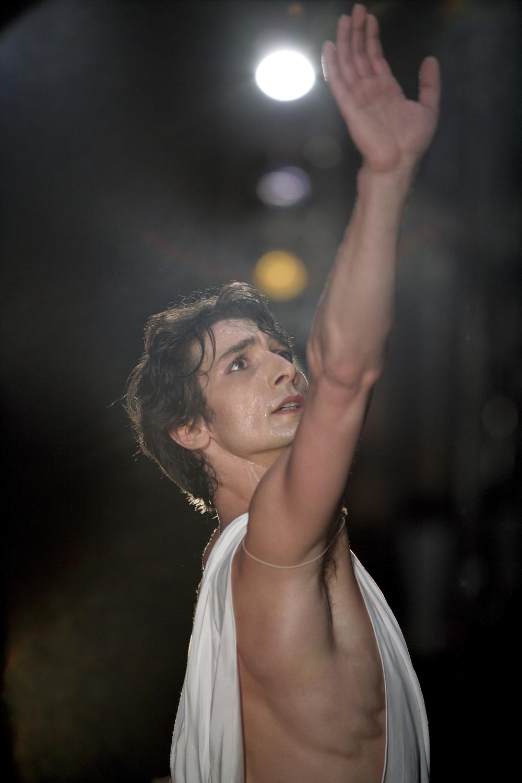 Pierre-François Vilanoba in Balanchine's Apollo.