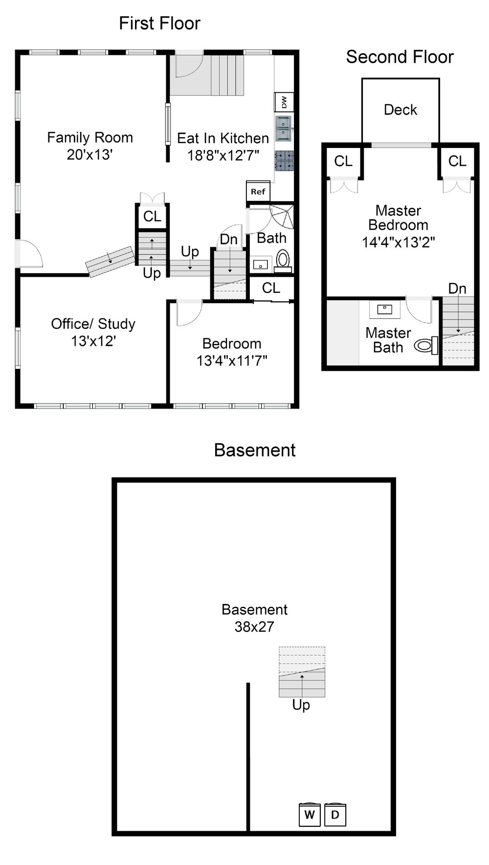 72 Morrison is a 3 level townhouse with an open floor plan and flexible living options.