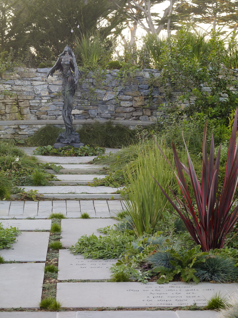 Literary Inspiration   by Arterra Landscape Architects.  Photo by  Marion Brenner