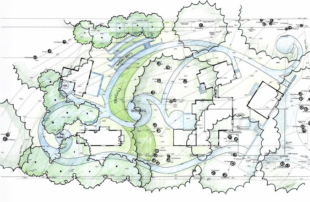 Conceptual Plan by Arterra Landscape Architects
