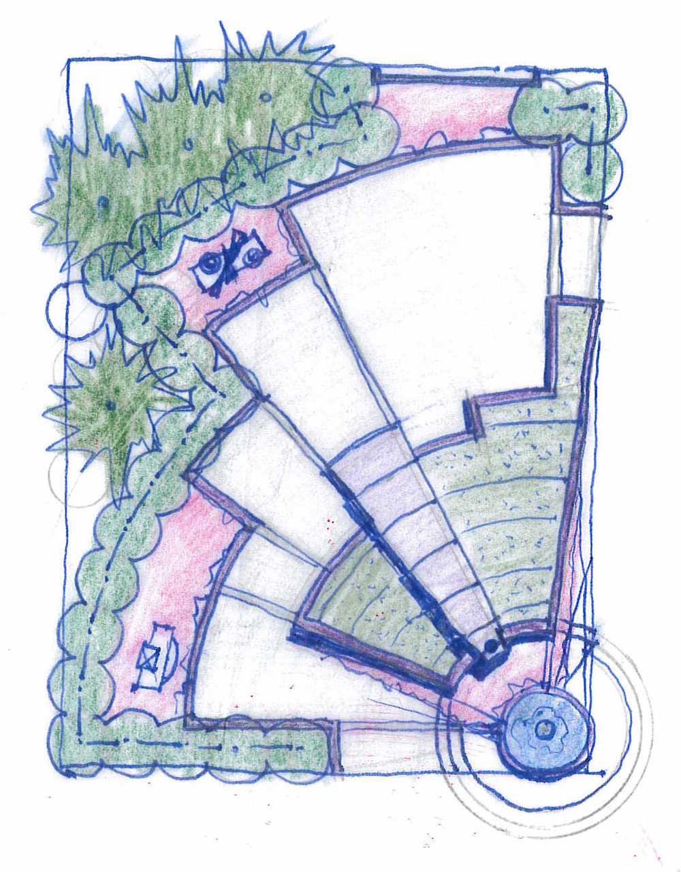 Sketch by Vera Gates