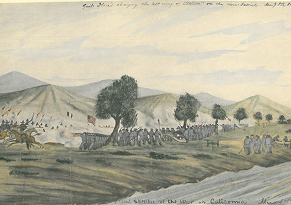 "William H. Meyers, ""The Battle of San Gabriel"", 1847 