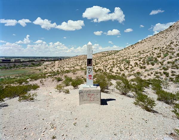 Border Monument No. 2B - N31º47.033' W106º32.992', 2007 |Photo courtesy of David Taylor