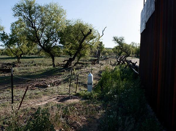 Border Monument No. 118 - N31º20.024' W110º.50.866', 2010 | Photo courtesy of David Taylor