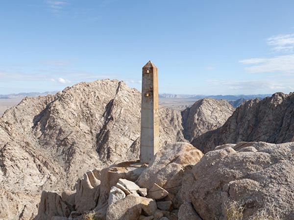 Border Monument No. 191 - N32º15.630' W114º02.681', 2012 | Photo courtesy of David Taylor
