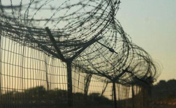 The fence between Botswana and Zimbabwe. | Photo courtesy of BBC website and Zimbabwe Telegraph