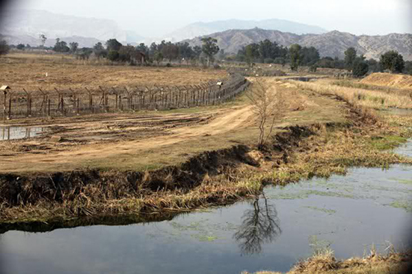 A view of agricultural land that was de-mined by the Indian army at Palaanwala, India on the India-Pakistan Line of Control in 2010. | Photo courtesy ofVAMAN, via militaryphotos.net
