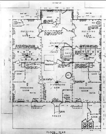 Plans for the El Paso Disinfection Plant, 1916 | USPHS, National Archives