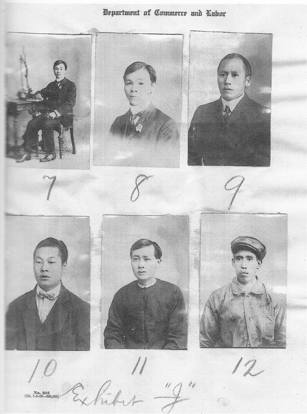 "Chinese ""passing"" as Mexican, 1907 