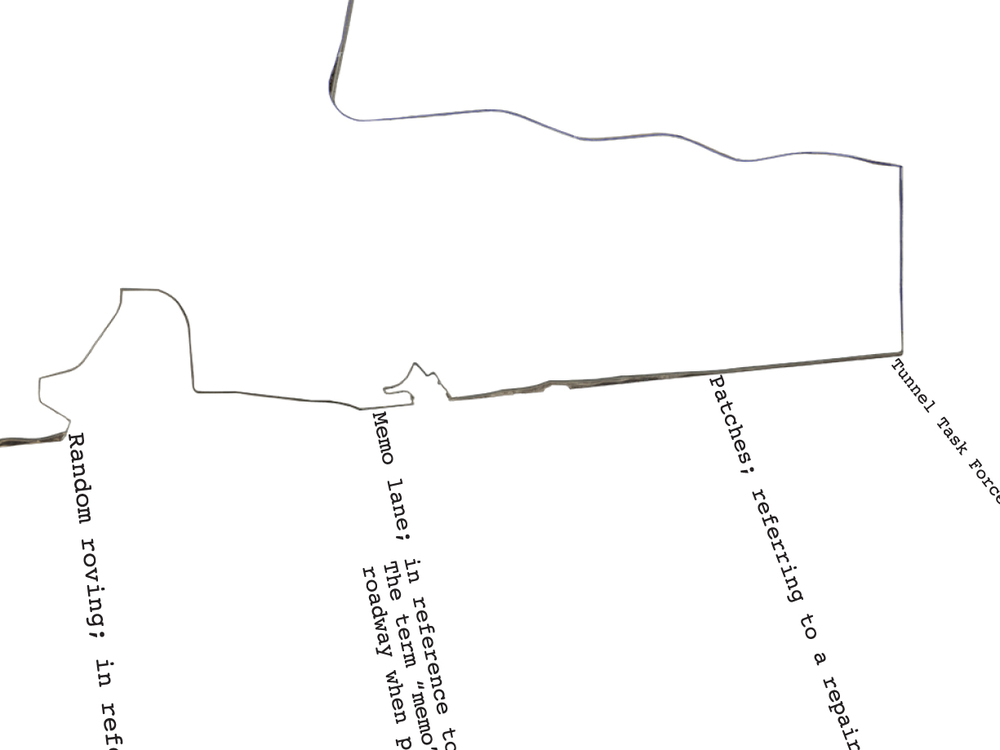 """Explore a map of our 6 mile route between the border walls 