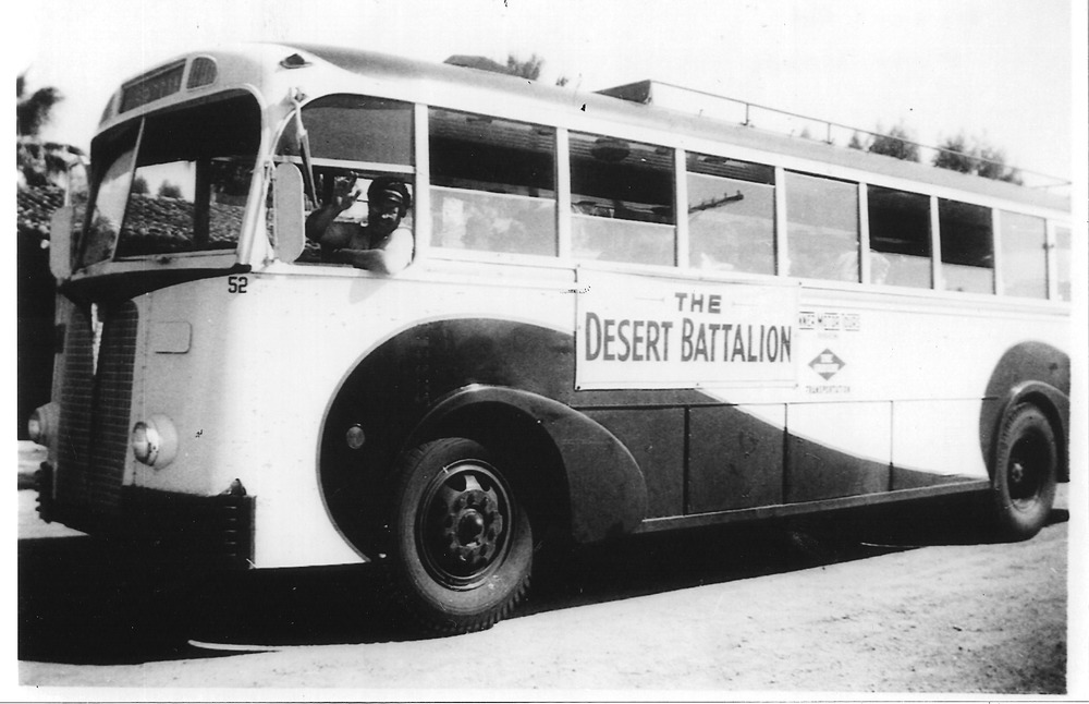 The Desert Battalion and other groups like it bussed in young women to serve as dance partners and conversationalists for the soldiers stationed at the DTC. Courtesy of the General Patton Memorial Museum.