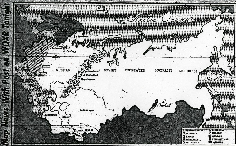 Figure 2 Map news 1942