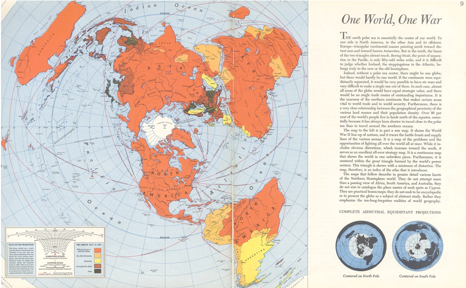 Figure 6 Harrison, One World, One War