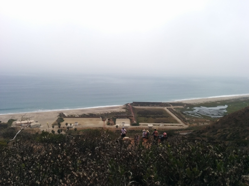 View from Chumash Trail of a shooting range at Naval Air Station Point Mugu | Photo: Jena Lee