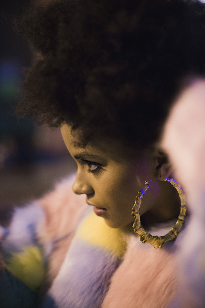 Zazie Beetz for  Nylon