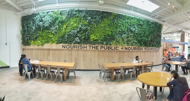 LivingGreen - Vertical - Garden - Living - Wall - Brandon - Pruett - FloraFelt -GreenWall - PublicMarket - InteriorPlants - Plants - Interior -