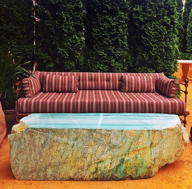 Living Green does gardens  for fabulash peeps. #livinggreendesign #subtropicalgarden #boyswithplants #sanfranciscogardens #secretgarden #mineralspecimens #subtropicalgarden #eurovision2017