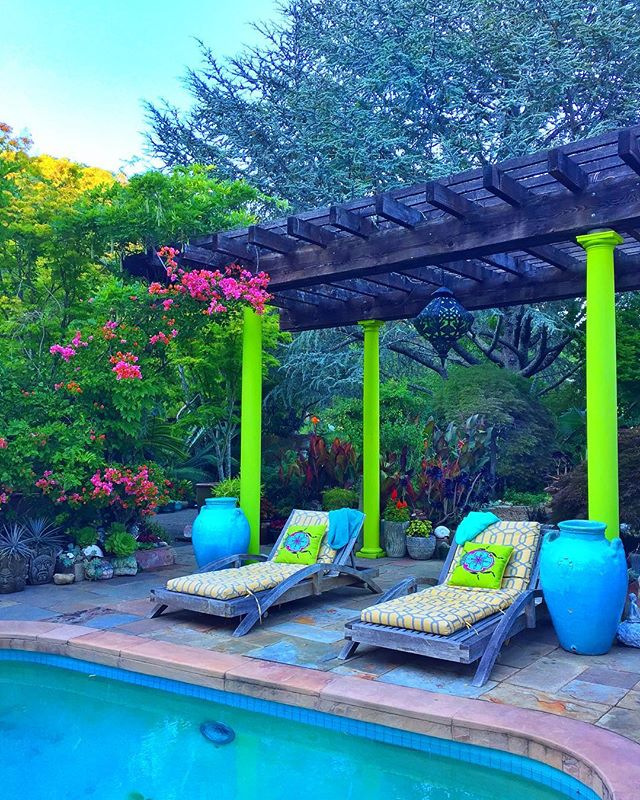 #livinggreendesign #swimmingpool #woodlandsgarden #limelight #classicalhollywood #marincounty #gardenart #livingitup #sanctuarygardens #aquamarine