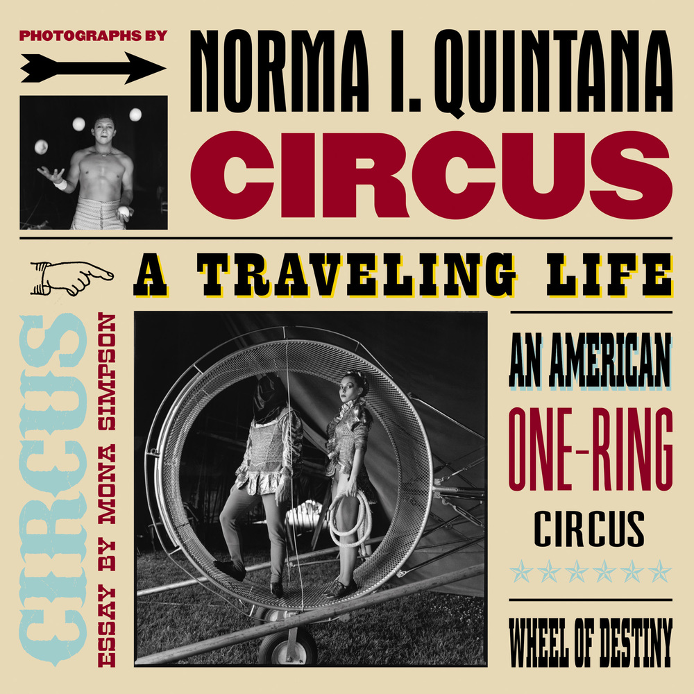 Jacket Art for  Circus: A Traveling Life  by Norma I. Quintana,  Yolanda Cuomo Design