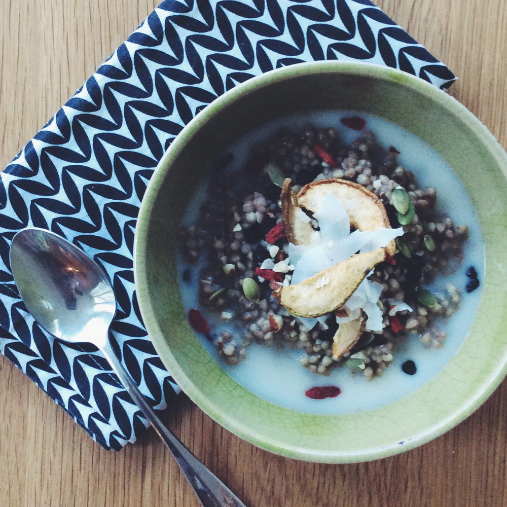 Spiced Buckwheat Porridge