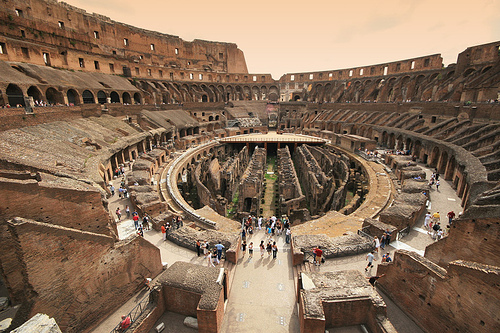 theworldwelivein :     Colosseum - The Wide View (via  ' Toshio ' )     I was here today. With a million other people.