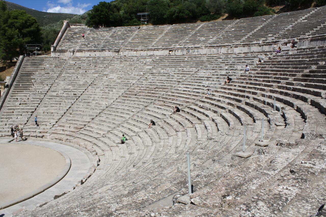 Theater at Epidaurus, Greece