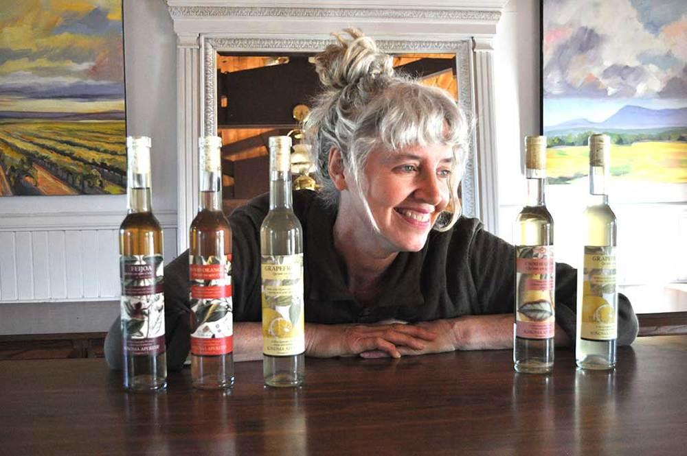 Laura Hagar Rush, founder, Sonoma Aperitif. Photography by Miranda Rush