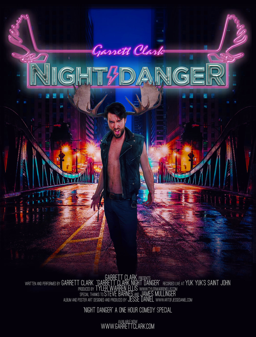 Night Danger Poster