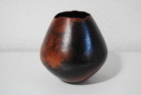 Burnished Pinched Form