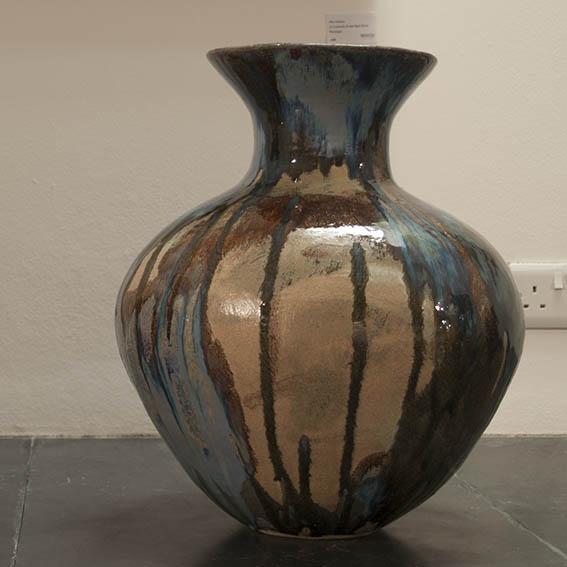 spring 2014 stoneware coil pot