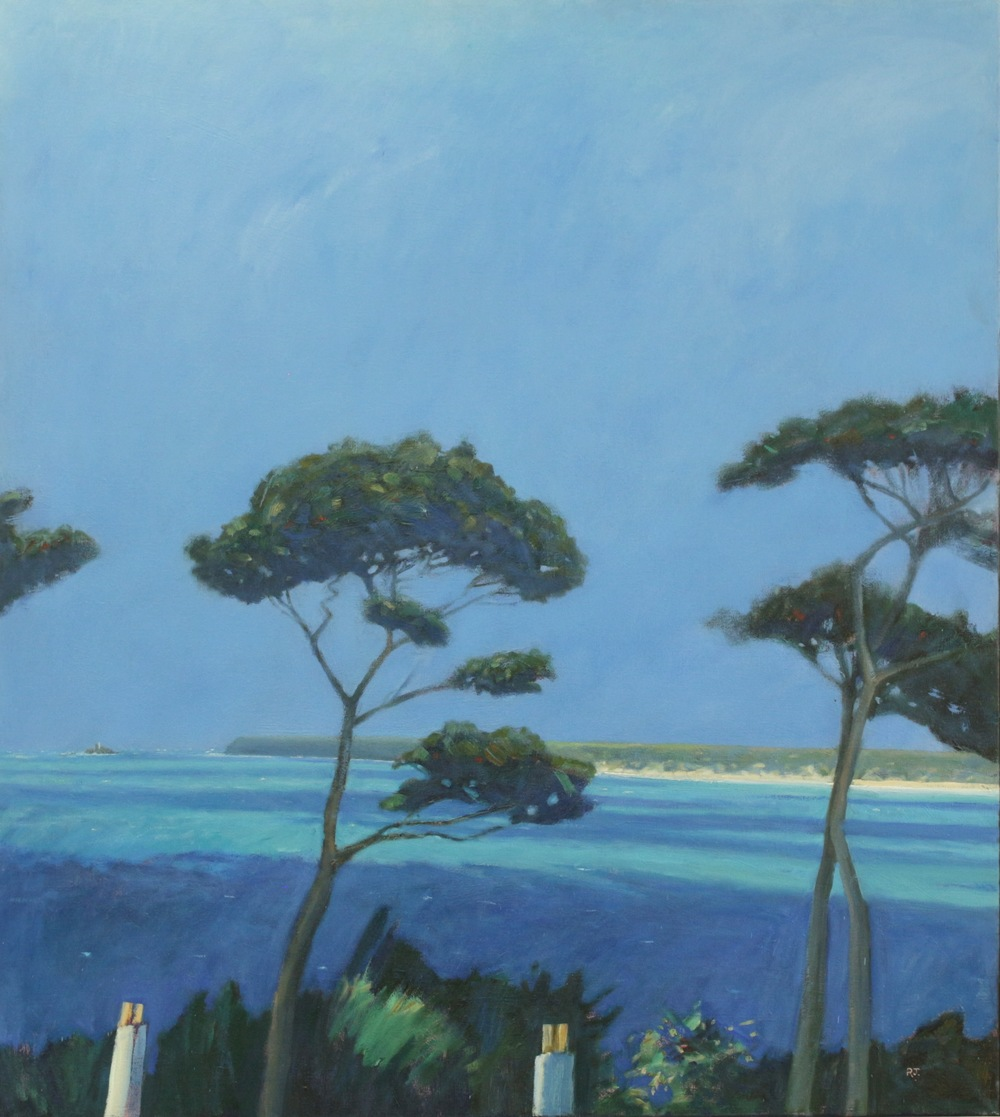 23. pine trees st. ives bay