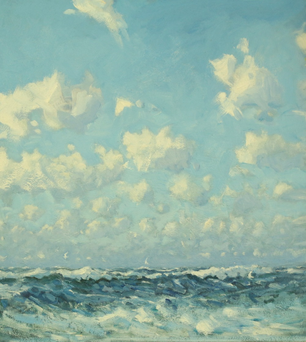 4. atlantic sea and clouds
