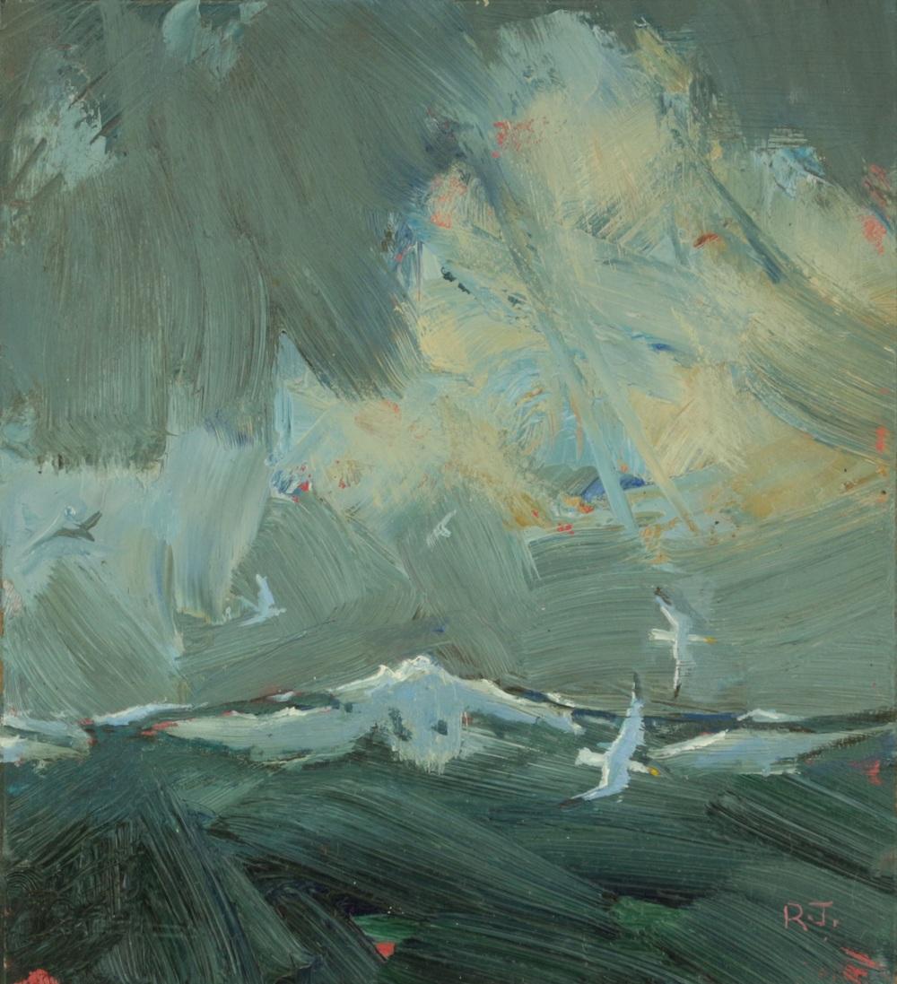 48. dark sea - gulls II