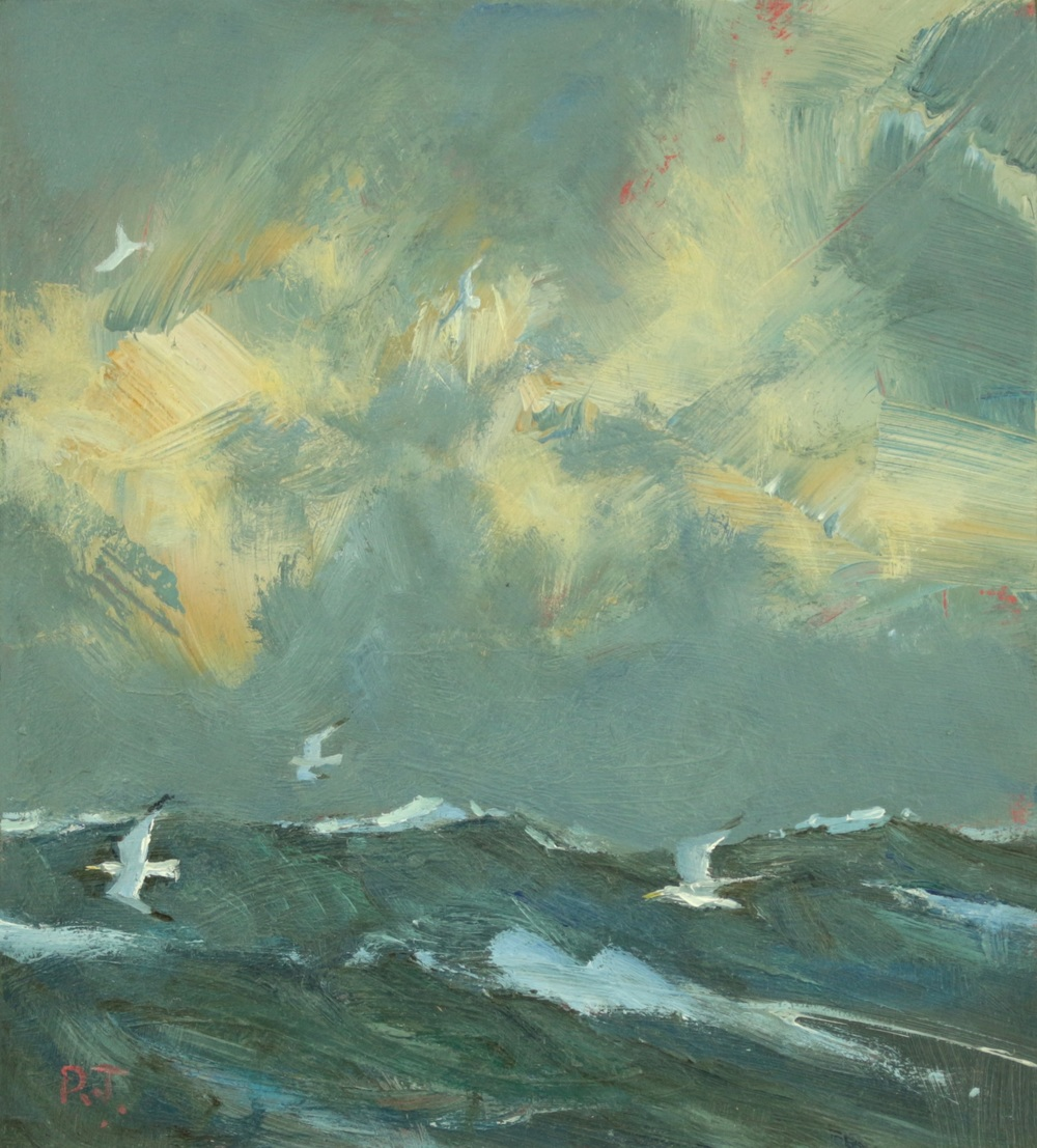 47. dark sea - gulls