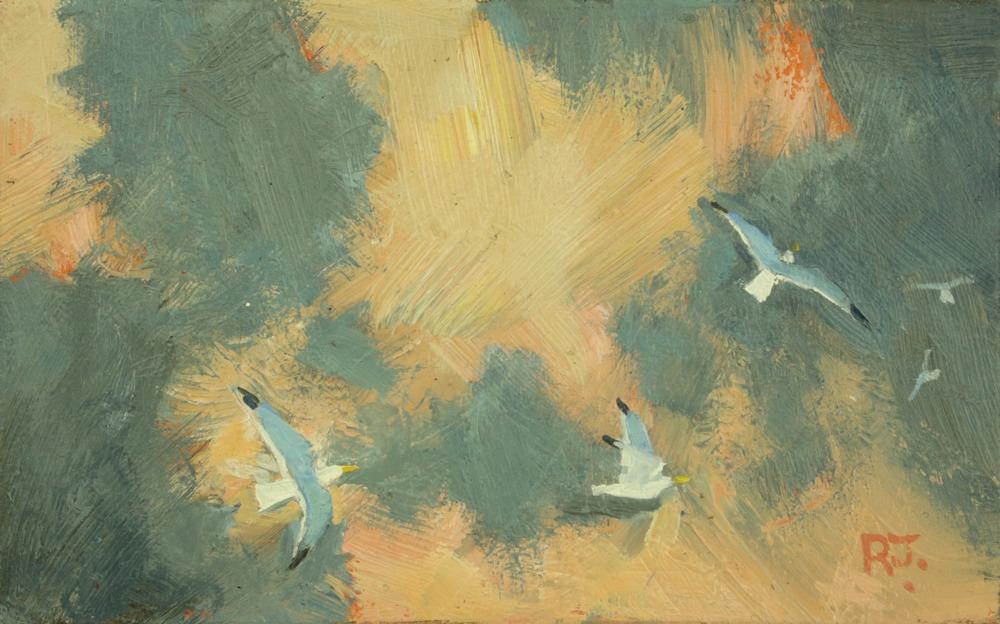 49. flight of gulls iv?
