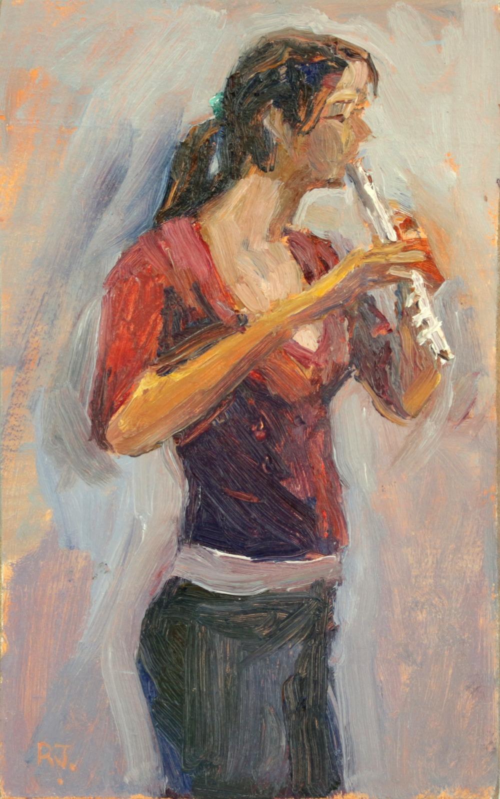 115. flautist V